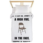 High Five Chair Twin Duvet