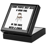 High Five Chair Keepsake Box