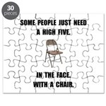 High Five Chair Puzzle