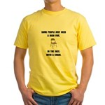 High Five Chair Yellow T-Shirt