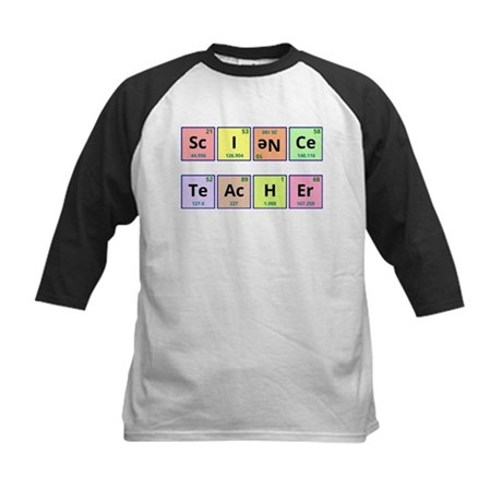 Science Teacher Kids Baseball Jersey