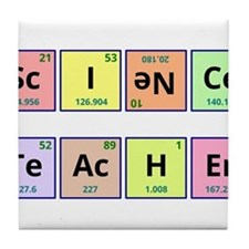 Science Teacher Tile Coaster