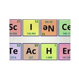 Science teacher Rectangular Magnet
