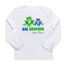 Big Brother Frogs Long Sleeve Infant T-Shirt