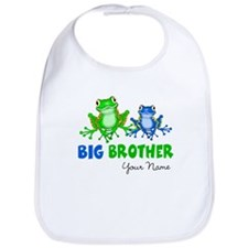 Big Brother Frogs Bib