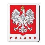 Polish Main Eagle Crest Mousepad
