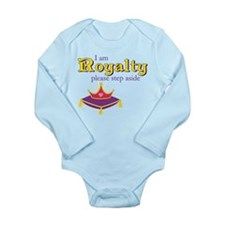 I am Royalty Long Sleeve Infant Bodysuit