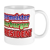 Meister Burger for President Design Mug