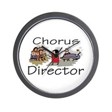 """Chorus Director Kids"" Wall Clock"