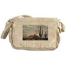 Camelback Mountain in 1955 Messenger Bag