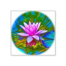 Waterlily, Lotus, Lilypad Sticker