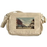 Downtown Phoenix in 1900 Messenger Bag