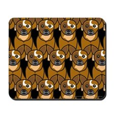 Red Australian Cattle Dogs Mousepad