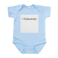 I Wakeskate Infant Creeper