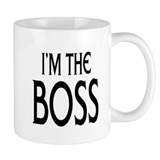 Im the Boss: Coffee Mug