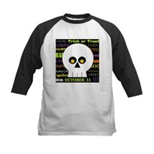 Halloween Subway Art Skull Tee