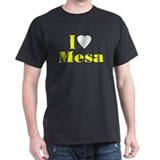 I Love Mesa Black T-Shirt
