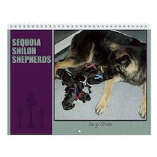 2013 Sequoia Shilohs Wall Calendar