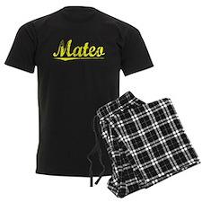 Mateo, Yellow Pajamas