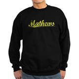 Mathews, Yellow Sweatshirt