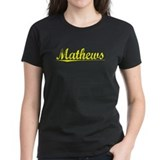 Mathews, Yellow Tee