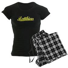 Matthias, Yellow Pajamas