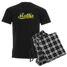 Mattis, Yellow Pajamas