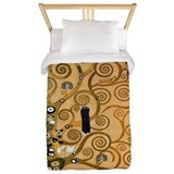 The Tree of Life by Klimt Twin Duvet