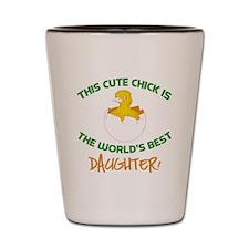 Cute Daughter Shot Glass