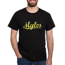 Myles, Yellow T-Shirt