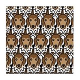 Shetland Sheepdogs Tile Coaster