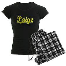 Paige, Yellow pajamas