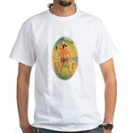 White T-Shirt Hanuman Large