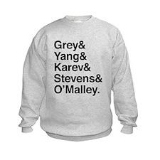 Grey, Yang, Karev, Stevens, Omalley Jumpers