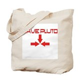 Unique Save pluto Tote Bag