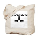 Save pluto Tote Bag