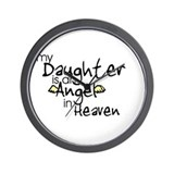 My daughter is an Angel Wall Clock