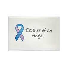 Brother of an Angel Rectangle Magnet