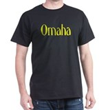 Omaha Black T-Shirt