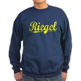 Riegel, Yellow Sweatshirt