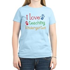 I Love Kindergarten T-Shirt