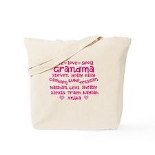 Custom grand kids Tote Bag