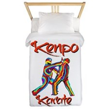 Kenpo Karate Twin Duvet