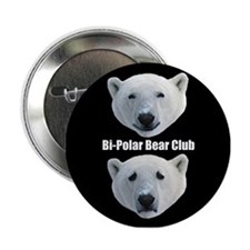 Bi Polar Bear Club Button