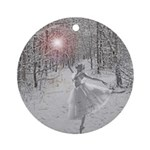The Snow Queen Ornament (Round)