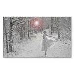 The Snow Queen Sticker (Rectangle 50 pk)
