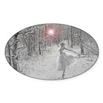 The Snow Queen Sticker (Oval 50 pk)