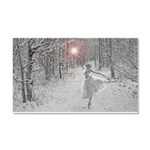 The Snow Queen Car Magnet 20 x 12
