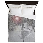 The Snow Queen Queen Duvet