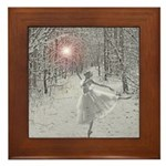 The Snow Queen Framed Tile